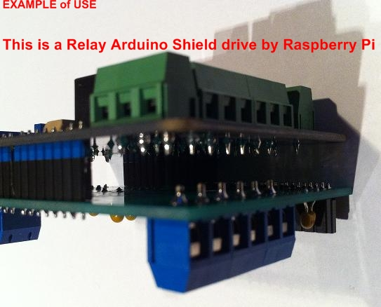 Shield raspberry relay