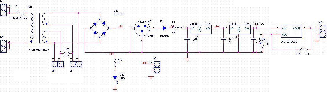 Schema Elettrico Alimentatore : Alimentatore stabilizzato power supply stabilized